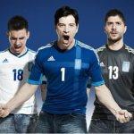 Η φανέλα της Εθνικής για το Euro 2012
