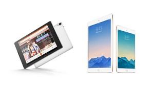 nexus 9, iPad Air 2 and Mini 3