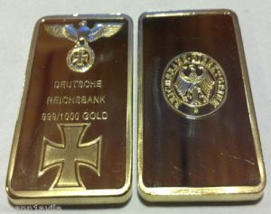 nazis gold bar
