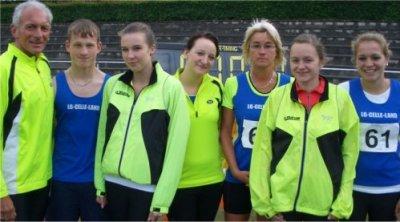 Bild zu 2 Bezirksmeistertitel für die LG Celle-Land (26.5.2011 )