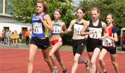 Bild zu Stefanie Liedke läuft bei NLV Meisterschaften auf Rang 4 (21.6.2011 )