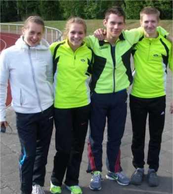 Bild zu Die LG Celle-Land startete bei den Kreismeisterschaften erfolgversprechend in die Bahnsaison.  (16.5.2012 )
