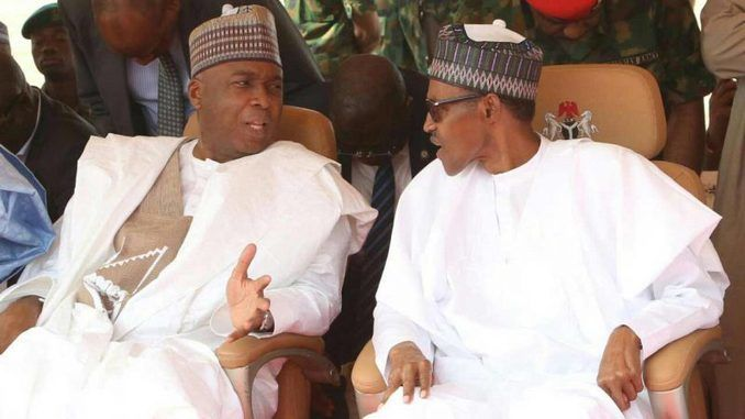 slap on democracy saraki reacts