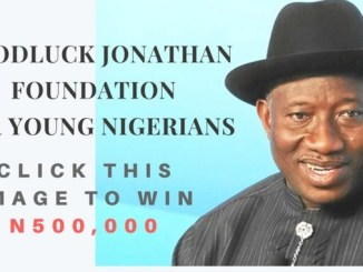 goodluck jonathan skill acquisition programme