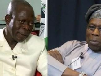 oshiomhole attacks obasanjo