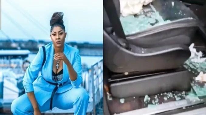 actress angela okorie narrowly escape death