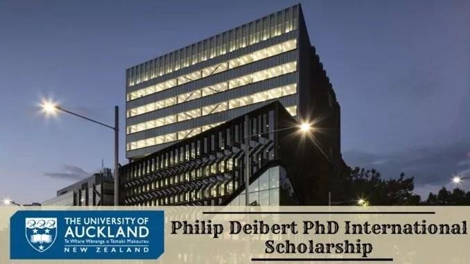philip deibert phd international