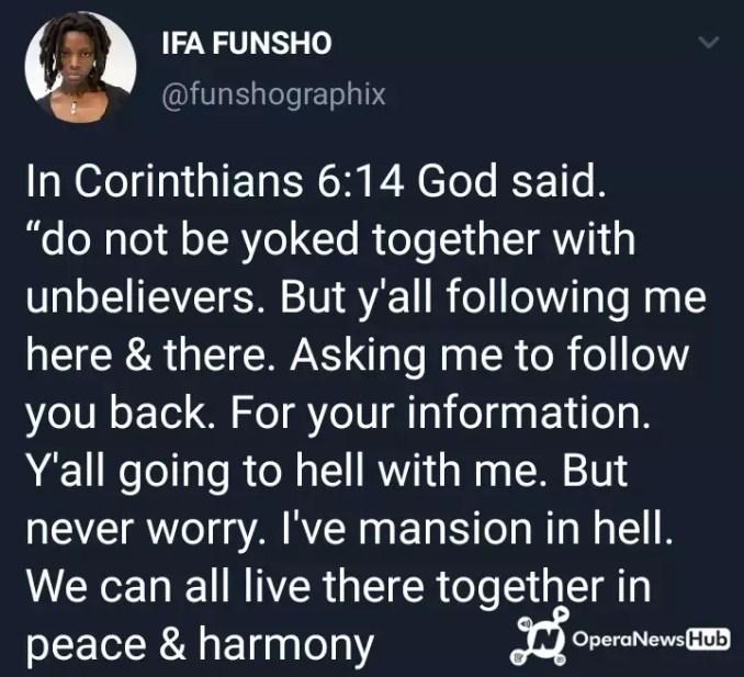 nigerian lady declares
