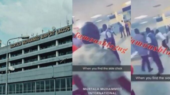 Fight At Abuja Airport