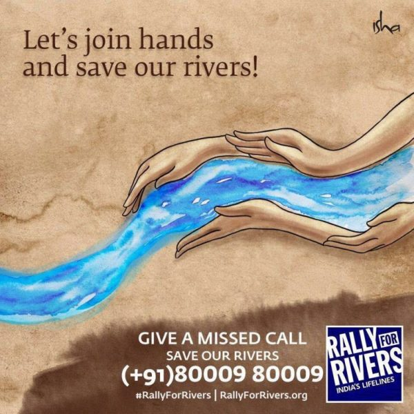 Rally for Rivers by Sadhguru, Isha Foundation an awareness ...