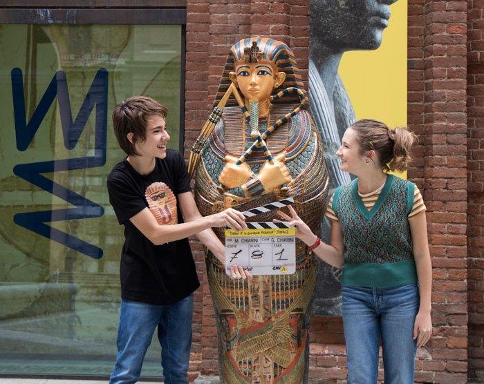 Museo Egizio di Torino set di un film della prodotto da Disney e 3ZERO2.