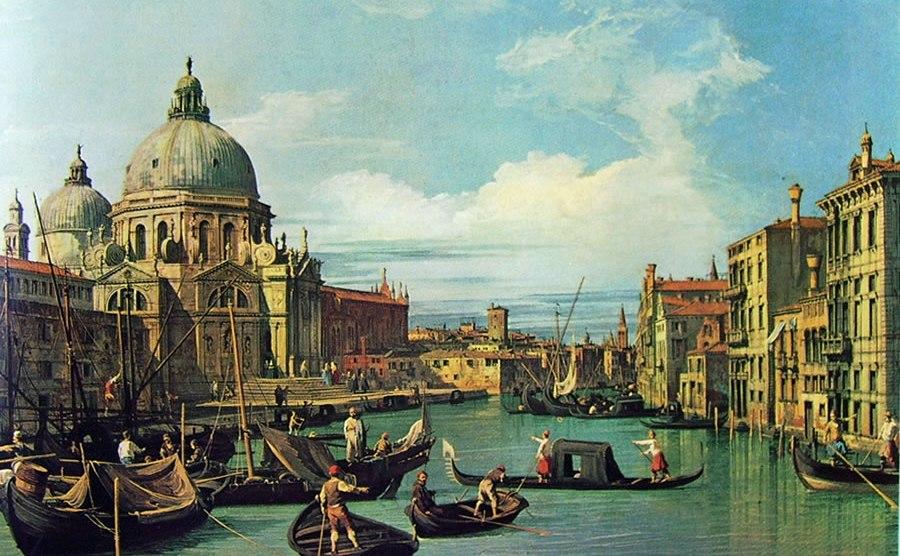 APPROFONDIMENTI – L'arte svela il collasso di Venezia attraverso i quadri del Canaletto.