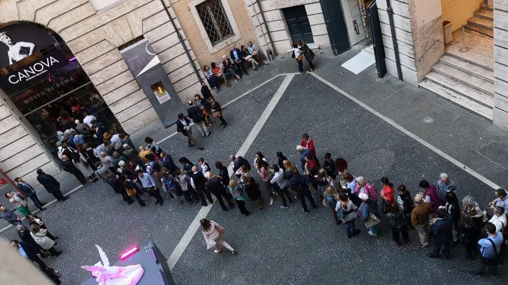 NEWS – CANOVA. ETERNA BELLEZZA: boom di visitatori al Museo di Roma e nuove aperture straordinarie serali tutti i fine settimana.