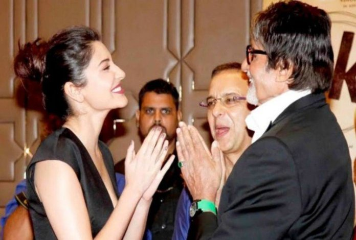 amitabh bachchan anushka sharma birthday wish twitter reply