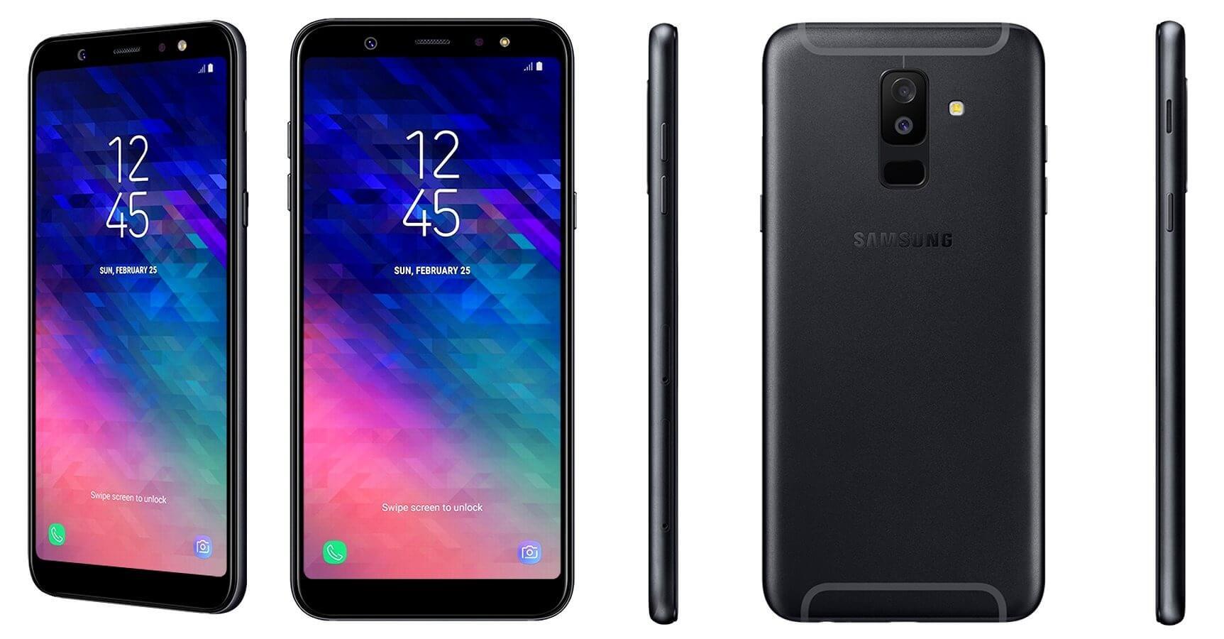Galaxy A6 et Galaxy A6 +