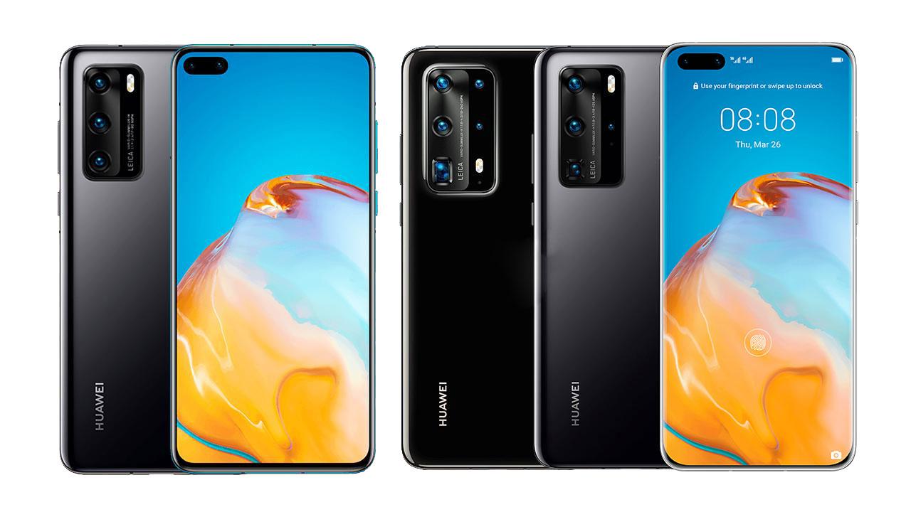 Les Huawei P40, P40 Pro et Pro Plus