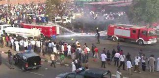 Eyewitnesses described scenes of terror in the wake of the explosions
