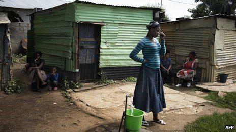 The strike has damaged mining communities north west of Johannesburg