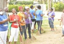 aken the cleanup exercise