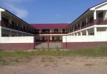 Adjen Kotoku Senior High School block