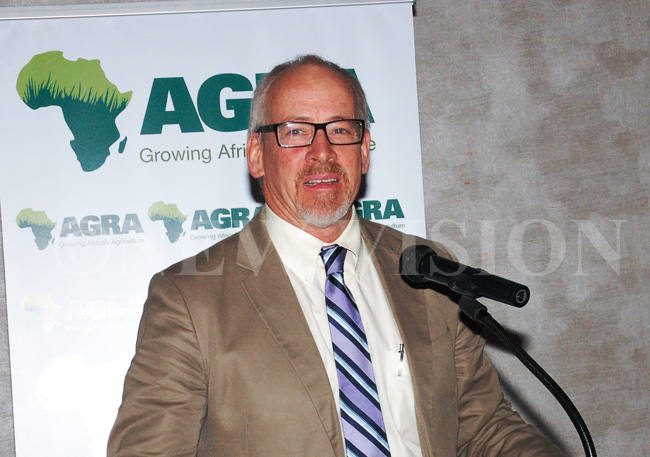 Joe Devries, the director of the Program for African Seed Systems at the Alliance for a Green Revolution in Africa (AGRA),