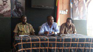 Kwesi Pratt Jnr and Executives