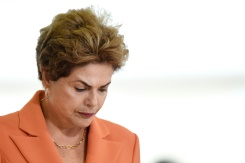 AFP/File / Evaristo Sa The impeachment case against Brazilian President Dilma Rousseff rests on accusations in Congress that she illegally manipulated government budget accounts