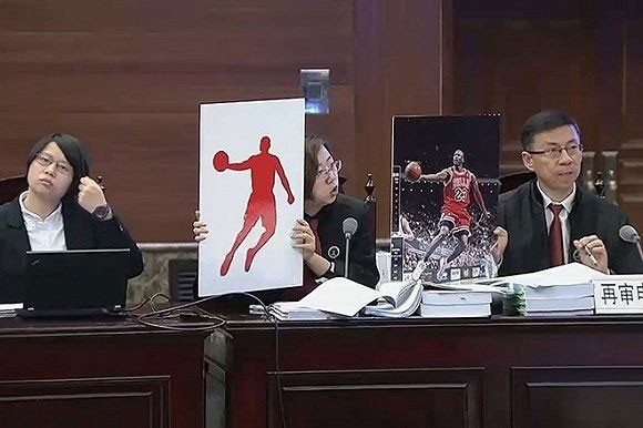 Michael Jordan's representatives present at the Supreme People's Court when the controversial trademark case is brought to final trial in Beijing on Thursday, December 8, 2016. [Photo: sohu.com]