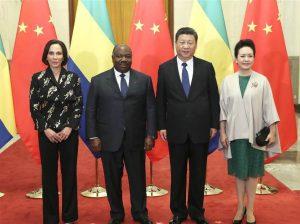 China and Gabon lift ties