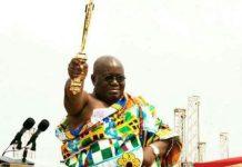 Ghana's Akufo-Addo sworn in