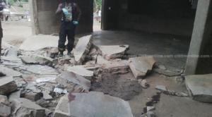 school collapse