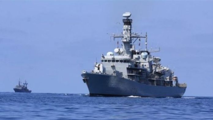 Royal Navy ship