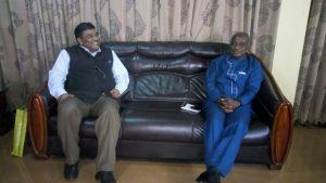 Ashanti Regional Minister, Hon. Simon Osei- Mensah,