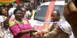 Donates Ambulance
