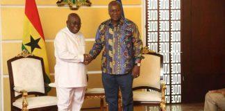 Akufo addo and Mahama