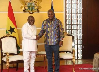 Akufo addo and Mahama