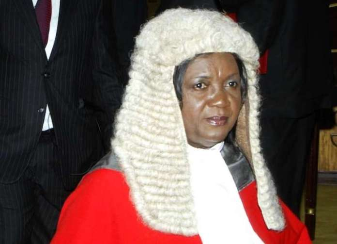 Chief Justice, Georgina Theodora Wood