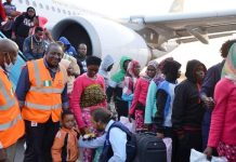 Nigerians returning from Libya