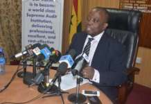 Mr Daniel Yaw Domelevo, Auditor-General