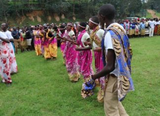 Young Rwandans celebrated International Youth Day in dances