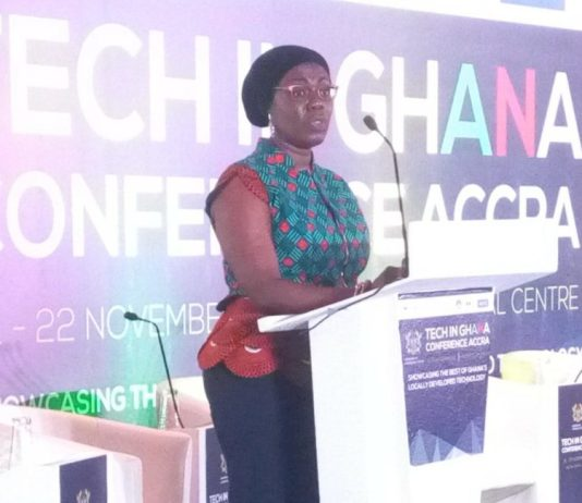 Minister of Communications, Ursula Owusu-Ekuful