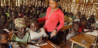 Classroom in Ethiopia