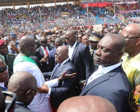 President Akufo-Addo Lauds Liberia's Peaceful Transition