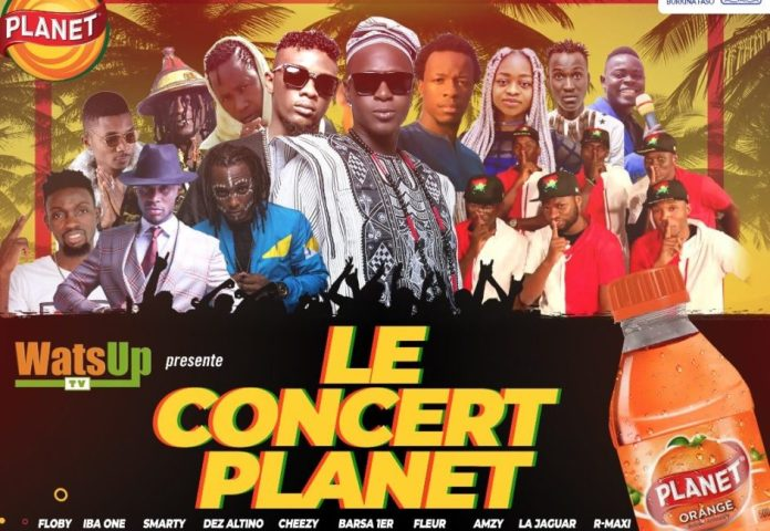 WatsUp TV Planet Concert Burkina Faso