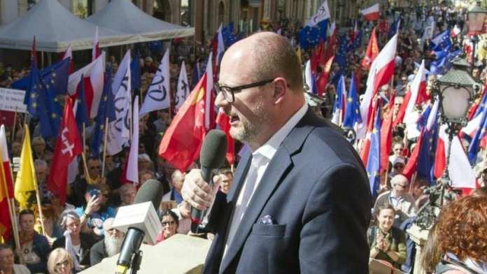 The mayor of Gdansk, Pawel Adamowicz (Wojciech Strozyk/AP)