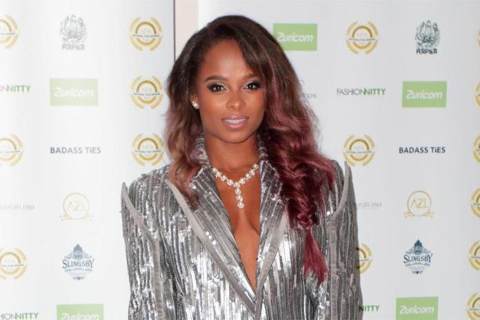 Fleur East at the National Film Awards