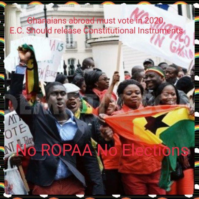 Ropaa No Elections
