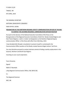 Malik's resignation letter