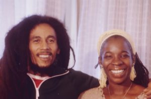 Bob Marley And His Lovely Wife Rita