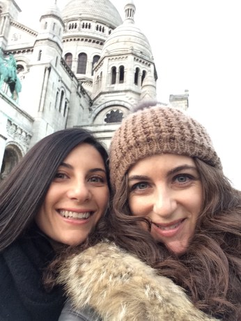 Sacré Coeur pretty selfie!